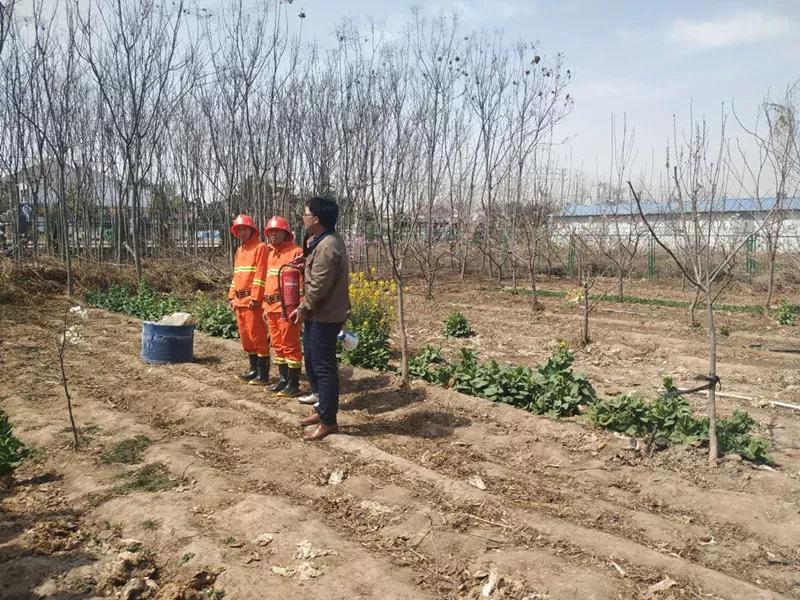 果蔬健水溶肥厂区举行消防应急演练